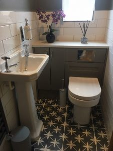 Toilet and Sink installation